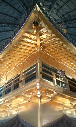 安土城天主の大屋根(当時の指図書による復元)