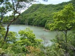 東条湖隣接の土地