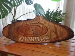 きよみづ郷木彫プレートon desk