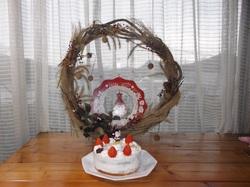 リース&ケーキ