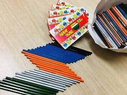 鉛筆と色鉛筆