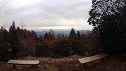 本仁田山の眺望 スカイツリー