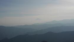 鷹ノ巣山 富士山