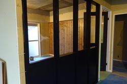 埼玉住建 マンションリノベーション スケルトン状態から リフォーム 間仕切 内窓 ガラス 広い空間