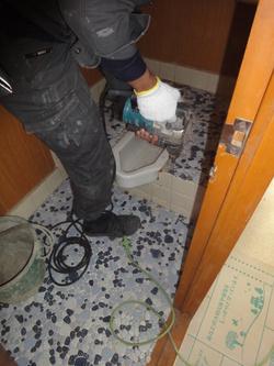 コーポ小林5号 トイレ解体1