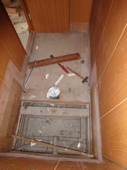 コーポ小林5号 トイレ解体2