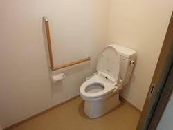 新設したトイレ