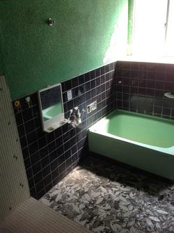 K様邸 浴室工事開始