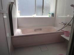 お風呂の完成。
