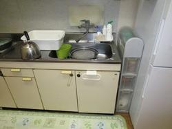 食洗器設置前