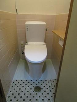天婦羅 たさき様 トイレ改修後