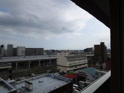 新潟マンション10階からの景色