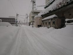 道路の積雪 20180112
