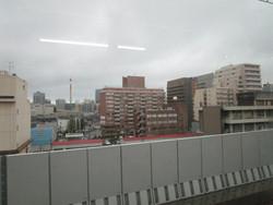 越後線高架の車窓から�@